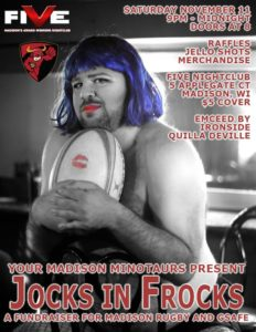 Madison Rugby Drag Night poster